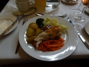 Meal at International Dinner
