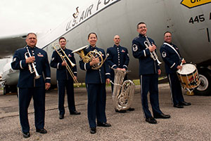 Photo provided by U.S.A.F. Band of Flight