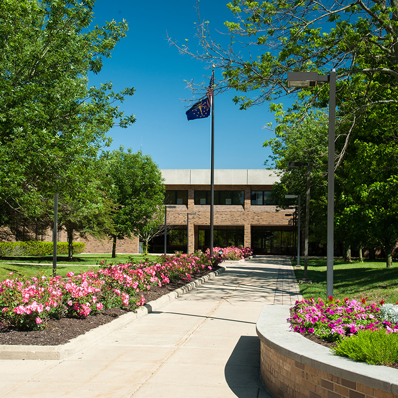 Whitewater Hall Rose Walkway