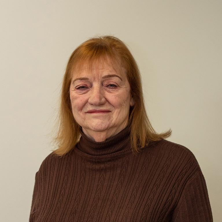 portrait of Joan Lafuze