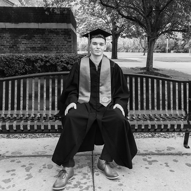 Hayden Jarvis is a graduate from IU East