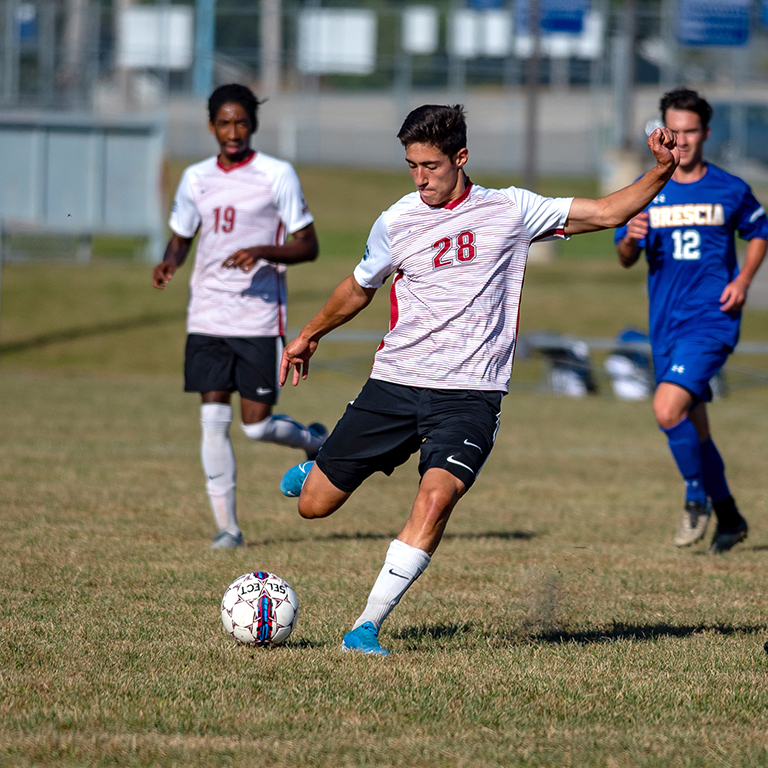 The men's and women's soccer teams will raise the $2,500 goal separately.
