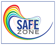 Safe Zone logo.